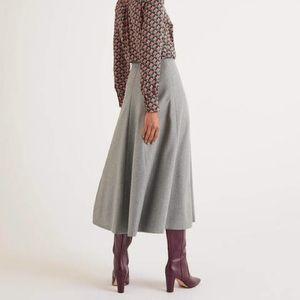 Banana Republic Tweed Circle Skirt